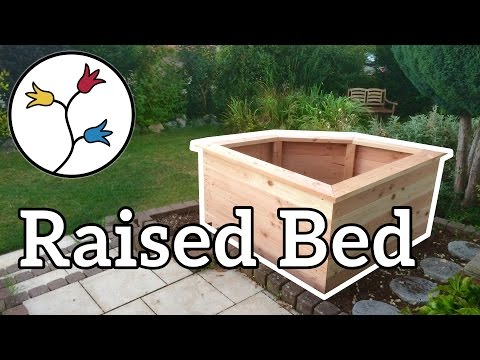 YOU can make a raised bed for your garden –DYI project raised garden bed