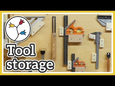 Tool storage ideas: Make french-cleat tool holders and organize your tools