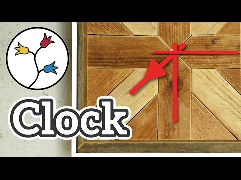 YOU can make this clock out of reclaimed wood – Easy DIY upcycling project