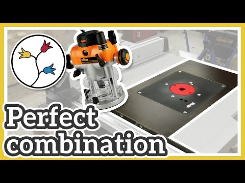 ROUTER TABLE INSERT FOR BOSCH TABLE SAW –ALL THE DETAILS