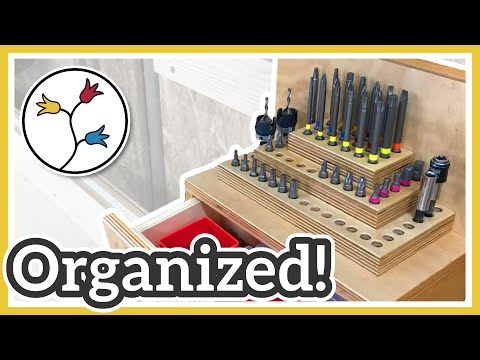 SCREW BIT ORGANIZER – Simple and useful screw bit pyramid