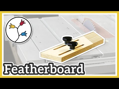 YOU can make this featherboard for the Bosch GTS 10 XC table saw – cheap and simple