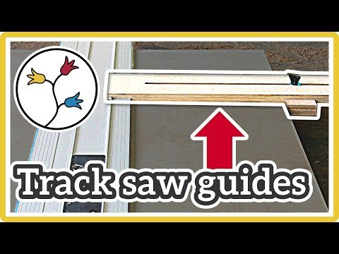 TRACK SAW parallel guides: YOU NEED THIS for easy repeatable cuts