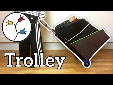 Make an instrument trolley for a horn (or another instrument) –DIY