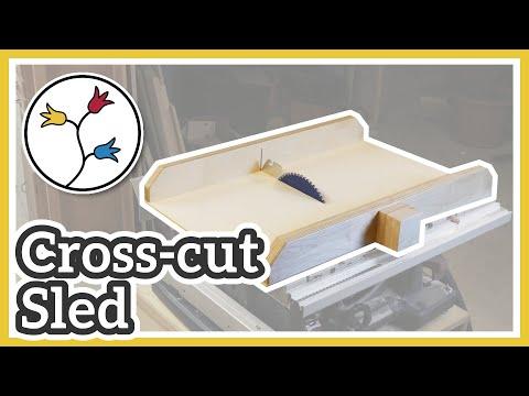 BOSCH GTS 10 XC SLED – CROSS-CUT SLED FOR THE BOSCH GTS 10 XC