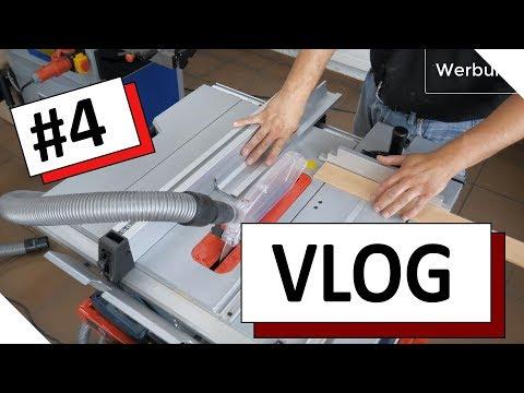 VLOG #4 Tipps zur Tischkreissäge und zur Hobelmaschine, aktuelle Projekte und die Holz-BG