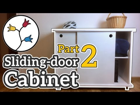 YOU can make a cabinet with sliding doors (part 2 of 2) – DYI furniture project