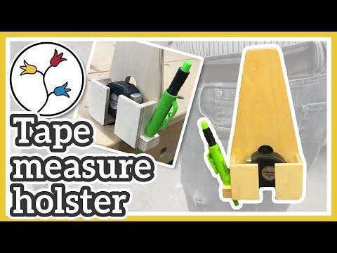 Tape Measure Holder DIY – So simple, so useful!