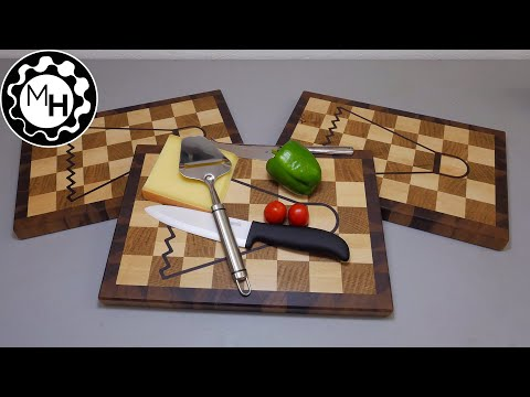 Badminton Inlay Cutting Boards