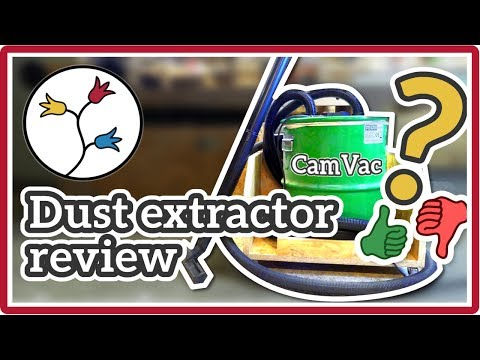 CYCLONE DUST COLLECTOR REVIEW – Record Power CGV 386