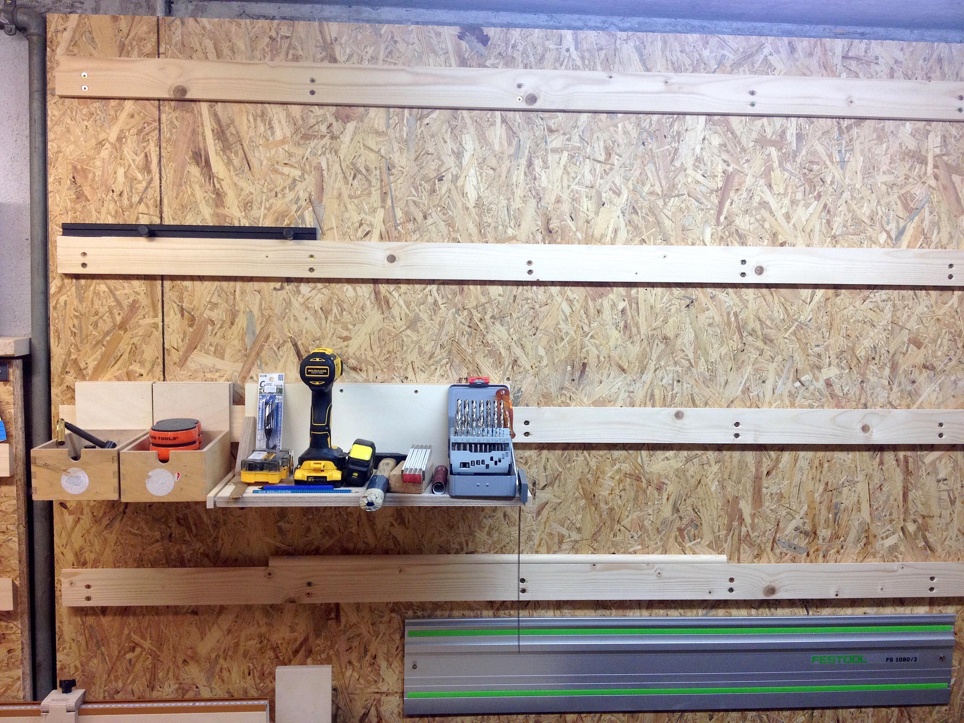 Turbo Winkelleisten für die Werkstattwand – Holzhandwerk YK14