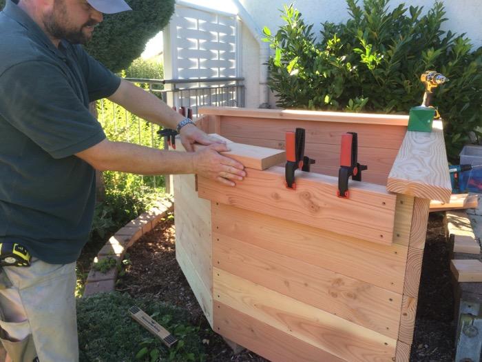 Ein Hochbeet Bauen Holzhandwerk
