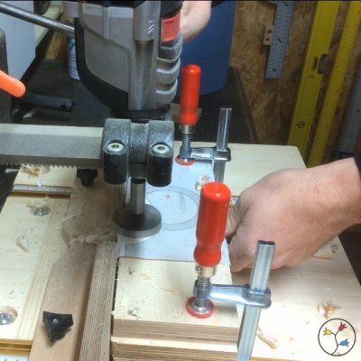 Querschnitt-Schlitten für die Bosch GTS 10 XC