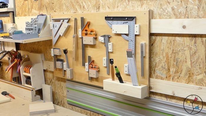 Fabulous Werkzeughalter selber bauen (french cleat Werkzeugwand) – Holzhandwerk SY87