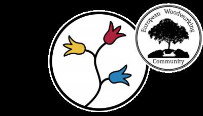 Holzhandwerk Logo mit EWC Logo