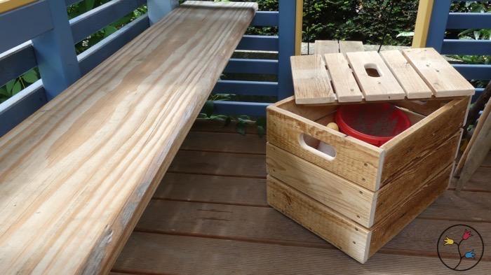 eine spielzeugkiste selber bauen holzhandwerk. Black Bedroom Furniture Sets. Home Design Ideas