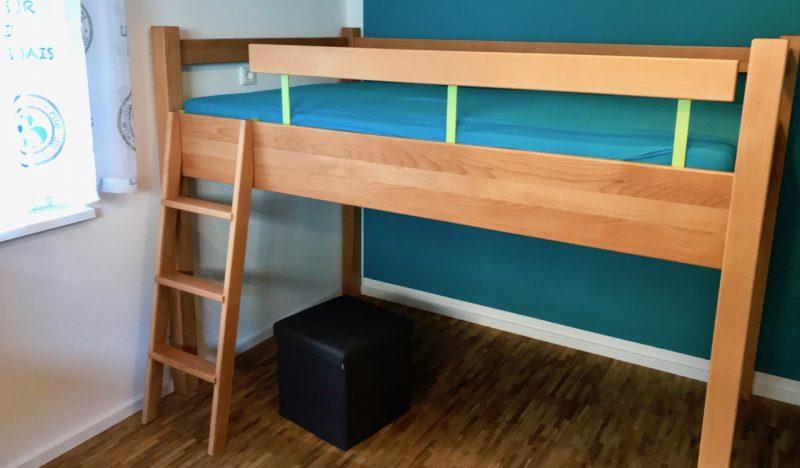 Hochbett Selbst Gebaut : ein hochbett selbst bauen holzhandwerk ~ Watch28wear.com Haus und Dekorationen